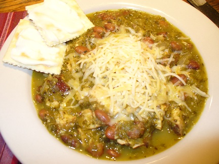 Smoked Chicken Green Tomato Green Chili Chili Another Stir of