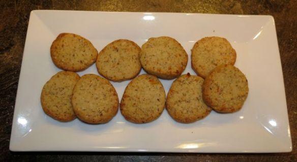 Orange Sable Cookies