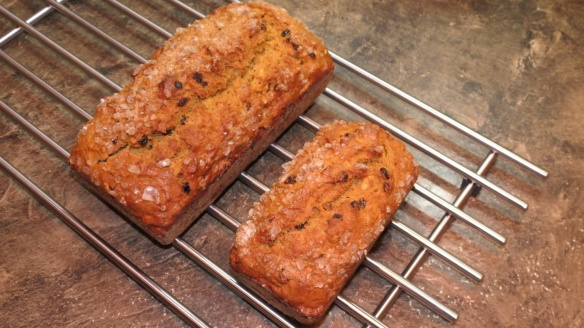 Persimmon bread adapted from James Beard