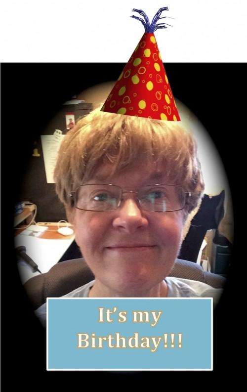 My birthday selfie