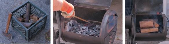 Wood - Coals - Layered