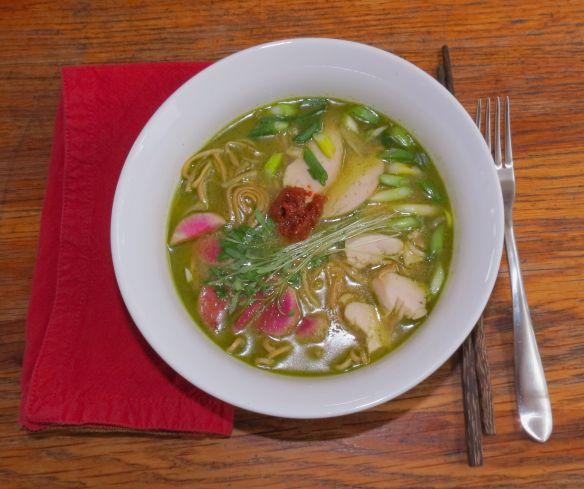 Noodle soup a la Curt