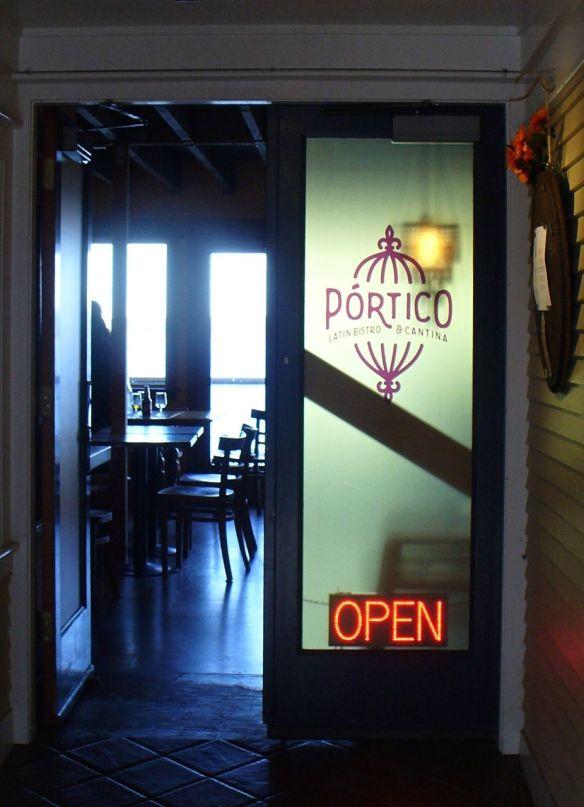 Portico entrance