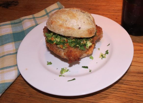 Curt's spicy chicken sandwich