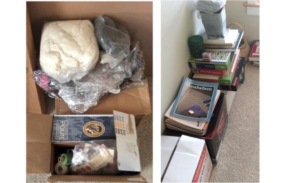 More magazines, yarn, roving, basketry materials