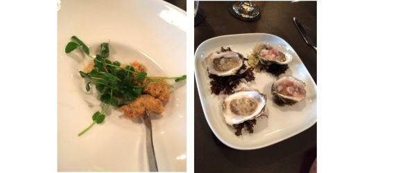 Fried vs Raw oysters