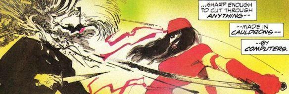 Elektra Assassin; 1986, Frank Miller and Bill Sienkiewicz