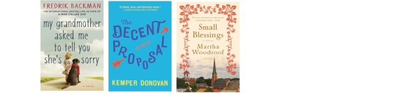 "Novels: From the author of ""A Man called Ove"", a Romantic comedy drama, and Characters in a small college town"